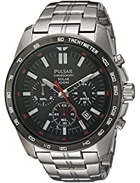 [パルサー] PULSAR 腕時計 Men's Quartz Stainless Steel Dress Watch, Color:Silver-Toned 日本製クォーツ PZ5005 メンズ 【並行輸入品】