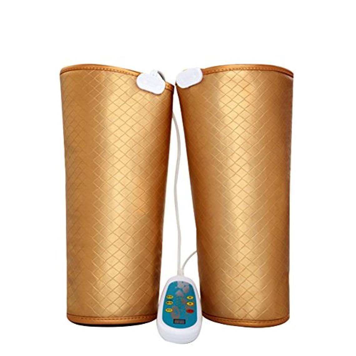 ノベルティ日麻痺電気マッサージ、膝の保温、男女通用、マッサージ機、膝と足を加熱してマッサージします