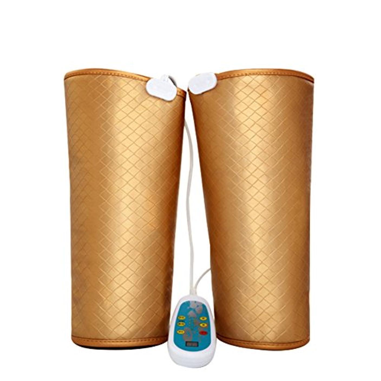 知らせる最近収まる電気マッサージ、膝の保温、男女通用、マッサージ機、膝と足を加熱してマッサージします