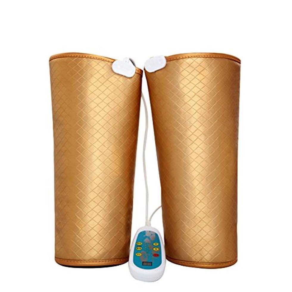 神経衰弱コミットポール電気マッサージ、膝の保温、男女通用、マッサージ機、膝と足を加熱してマッサージします