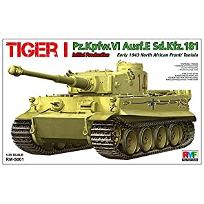 ライフィールドモデル 1/35 タイガーI 重戦車 極初期型 1943年 北アフリカ チュニジア プラモデル