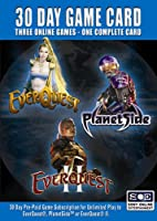 30 Day Game Time Card Game Card (Everquest II, Planetside, Everquest Game Card) (輸入版)