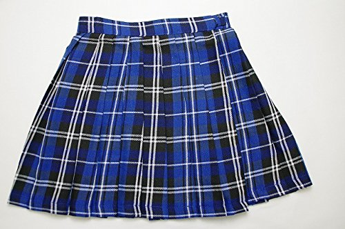 【COS+】 STARRYAGE プリーツスカート ( ブルーチェック M ) 制服 豊富な色柄バリ...