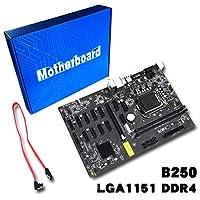 Robincure マイニングボード B250 マイニングエキスパートマザーボード ビデオカードインターフェース クリプト用