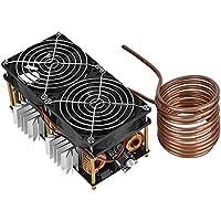 DC12/48V 1800W ZVS 誘導モジュール 加熱モジュール 誘導加熱モジュールヒーター銅管付き コイル付き