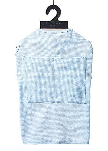 犬服 VERY 保冷剤がたっぷり入るポケット付3WAYクールウェア(硬くならない専用保冷剤付) ブルー7号 中型犬 ドッグウェア