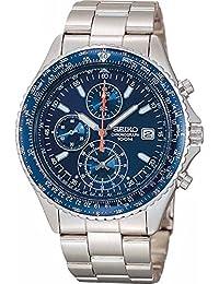 SEIKO 5(セイコー) セイコー パイロットクロノグラフウオッチ メンズ腕時計 ブルー(SND255PC)