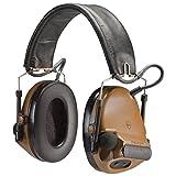 Peltor Comtac III Hearing Defender電子Earmuffs ( NRR 20) ブラウン