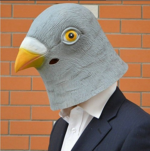 IMAGE® can be momentarily turned Dove head mask * cultural festival, party, cosplay! Of those who do not know the