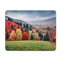 ゲーミングマウスパッド、マウスパッドデザインとマウンテンバレーのマウスパッドの秋の風景