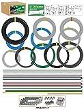 準備万端 平成29年度 第一種電気工事士技能試験練習用材料 「全10問分の電線セット」