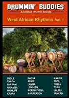 DRUMMIN' BUDDIES Animated Rhythm Sheets : West African Rhythms vol. 1 (African Drumming)【DVD】 [並行輸入品]