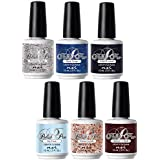 NSI Polish Pro Gel polish - The Ice Queen Collection - All 6 Colors - 15 ml/0.5 oz Each