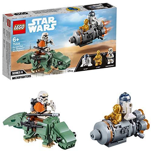 レゴ(LEGO) スター・ウォーズ 脱出ポッド vs.デューバック マイクロ...