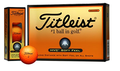 TITLEIST(タイトリスト) ゴルフボール HVC SOFT FEEL 2ピース 12個入り オレンジ T7251S-J