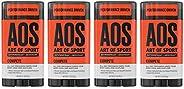 Art of Sport Men's Antiperspirant Deodorant Stick, Compete Scent, Athlete-Ready Formula with Matcha, 2.
