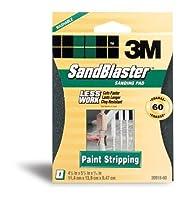 3M SandBlaster 20918-60 Paint Stripping Sanding Sponges, Coarse 60 [並行輸入品]