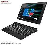 タブレットPC 2in1 ノートパソコン 新品 Windows10 WIZ 10.1インチ 2in1 PC Windowsタブレット IPS液晶 メモリ2GB Microsoft Office Mobile KBM101K Intel ATOM x5-Z8350 ノートPC