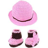 Dovewill 新生児  ユニセックス  ニット   衣装  写真の小道具  帽子  かわいい  全3色