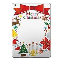 iPad mini4 スキンシール apple アップル アイパッド ミニ A1538 A1550 タブレット tablet シール ステッカー ケース 保護シール 背面 人気 単品 おしゃれ クリスマス カラフル リボン 009453