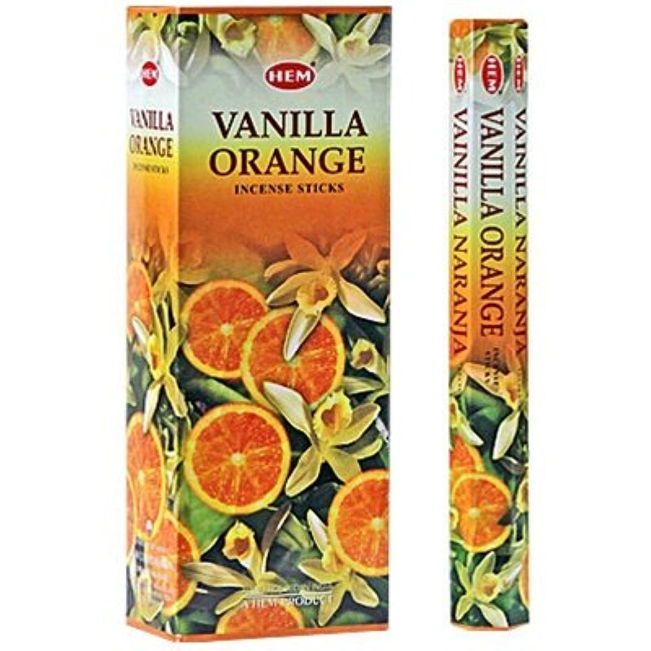 愛情クロール軽減するHEM バニラオレンジ 6個セット