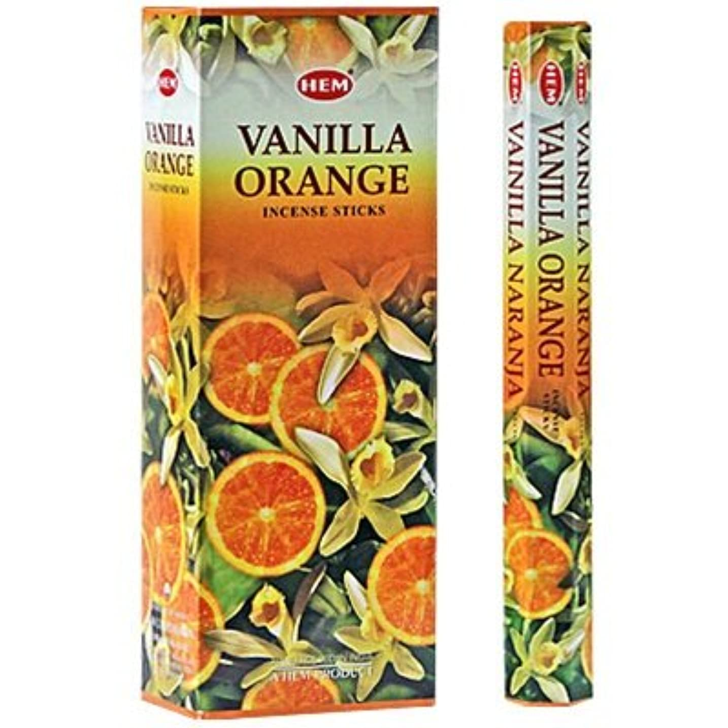 小康エミュレートする倉庫HEM バニラオレンジ 6個セット
