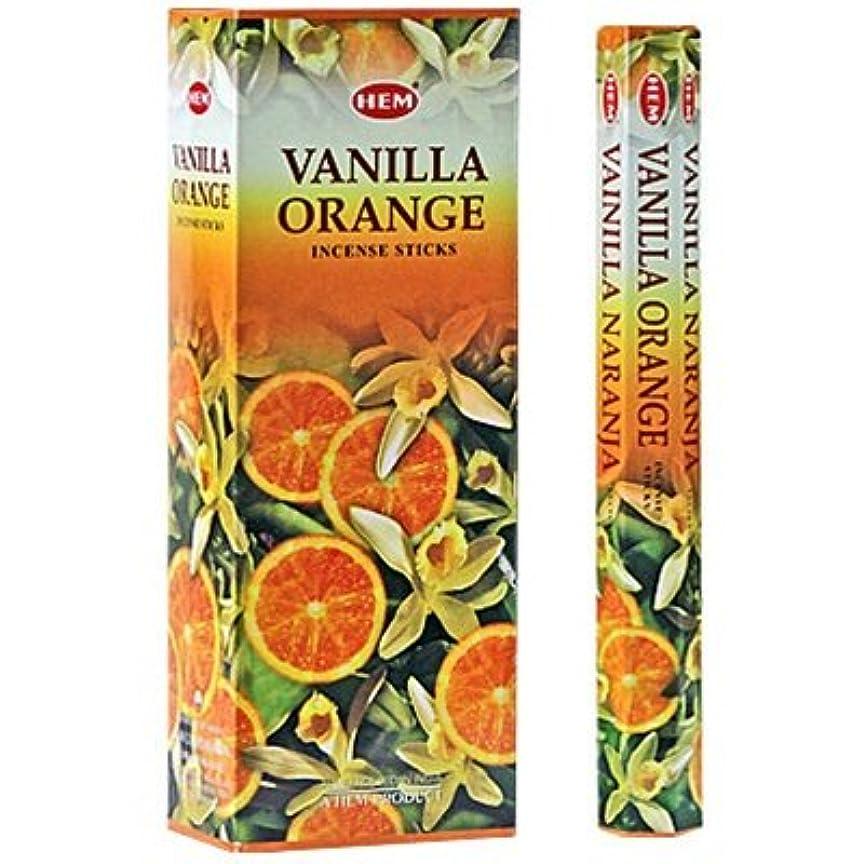 息を切らしてスポット機会HEM バニラオレンジ 6個セット