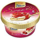 明治 エッセル スーパーカップ Sweet's 苺ショートケーキ 172ml x 24個