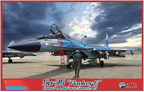 キティホークモデル 1/48 中国人民解放軍空軍 Su-35 フランカーE プラモデル KITKH80128