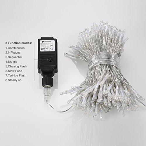 B-right 5.4M 300 LED led イルミネーションライト カーテンライト ウォームホワイトZS000J11AC-TMクリスマス、結婚式、パーティデコレーション用