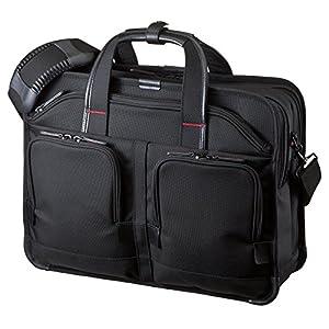 サンワサプライ エグゼクティブビジネスバッグPRO(ダブル) BAG-EXE8