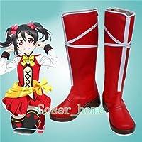 ラブライブ!Lovelive! 矢澤にこ やざわにこ コスプレシューズ コスプレブーツ おしゃれ 靴 Cosplay shoes boots アニメ コスチューム