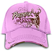 """BUCK WEAR Ladies Hat With RealTree Camo """"Predator In Pink"""""""