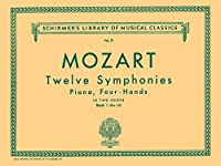 12 Symphonies: Nos. 1-6: Piano Duet