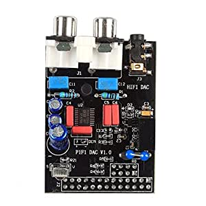 サインスマート HIFI DAC サウンドカード モジュール I2Sインターフェース Raspberry Pi B対応