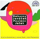 Violin Sonatas:Debussy,Janacec