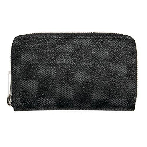ルイヴィトン LOUIS VUITTON 財布 小銭入れ メンズ レディース ジッピー・コイン パース ダミエ・グラフィット N63076 ミニ財布