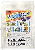 ユタカメイク PE透明糸入りシート 1.8m×3.6m B-310