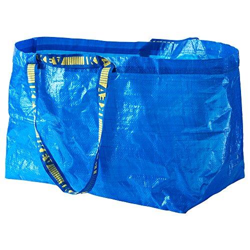 [イケア]IKEA フラクタ FRAKTA キャリーバッグ L ブルー (20188483)
