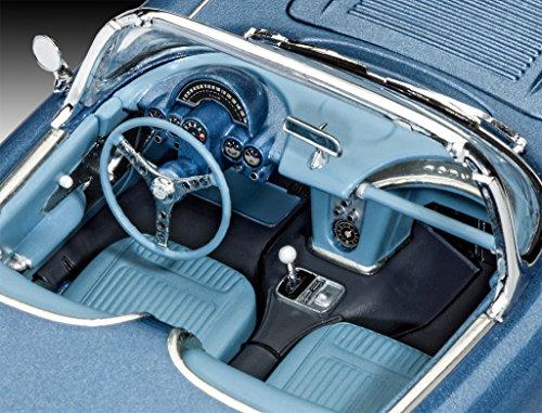 ドイツレベル 1/25 コルベット ロードスター 1958 プラモデル 07037