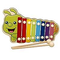 Lazayyii 木琴音楽リズム 音楽 ピアノ ベビー おもちゃ 子供 動物 教育玩具 (B)