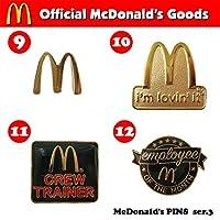McDonald's PINS series 3