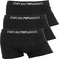 (エンポリオアルマーニ) EMPORIO ARMANI ボクサーパンツ メンズ【3枚組セット】Genuine cotton with Logo band [並行輸入品]