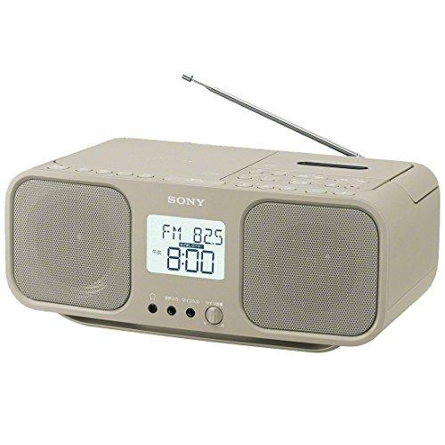 ソニー SONY CDラジオカセットレコーダー CFD-S401 : FM/AM/ワイドFM対応 大型液晶/カラオケ機能搭載 電池...
