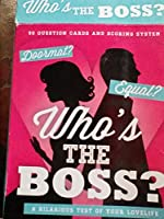 Who's The Boss - A Hilarious Test Of Your Love Life - Card Game - New