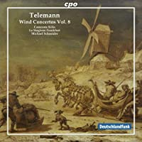 Telemann: Wind Concertos, Vol. 8 (2012-10-30)