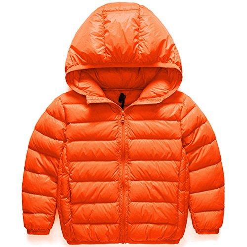 5fc07745300b3 AKSSWEET 子供服 ダウンコート ダウンジャケット キッズ ベビー ジャケット 無地 フード付き ベビー服 女の子 男の子