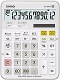 カシオ スタンダード電卓 計算チェック検算 デスクタイプ 12桁 DJ-120W-N