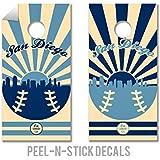 野球Cornhole Decals – Cornholeクルー – ACA Regulation Size Cornholeボードデカール