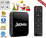 JYDMIX Android TV BOX C95S Google スマート TV チューナー Android 6.0 日本語対応 2GB RAM 16GB ROM 64Bits 3D 4K対応 HD Wi-Fi Blu..